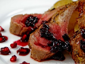 Pomegranate Port Chop